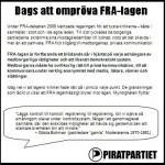 FRA-flygblad