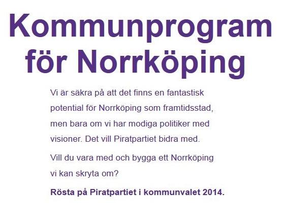 Kommunprogram